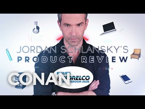 Jordan Schlansky's Product Review: Philips Norelco Bodygroom  – CONAN on TBS