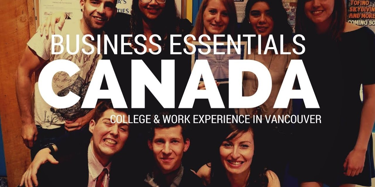 Business Essentials – College Study & Work Experience in Vancouver (Video by Martin Kominek)