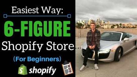 The Fastest Way to Build a 6-Figure Shopify Store