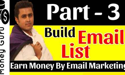 How To Build Email List | Learn Email Marketing – Affiliate Marketing !