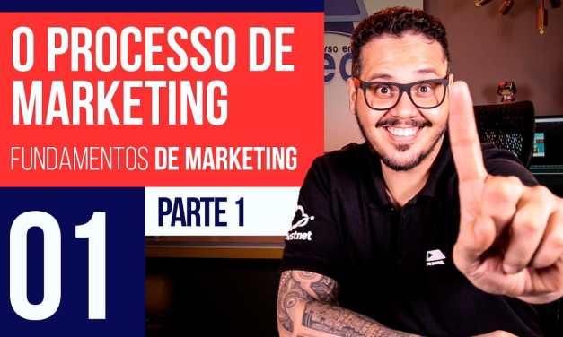 O Processo de Marketing – Marketing Digital #01