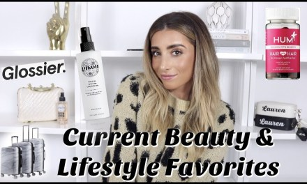 MY CURRENT BEAUTY & LIFESTYLE FAVORITES! Product Reviews / Haul! | Lauren Elizabeth