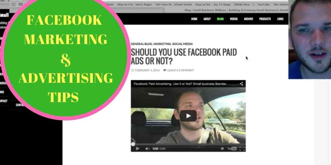 Get Your Free Facebook Marketing & Advertising Tips Here!