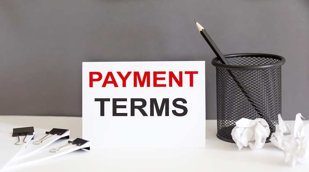 HOW TO ESTABLISH PAYMENT TERMS