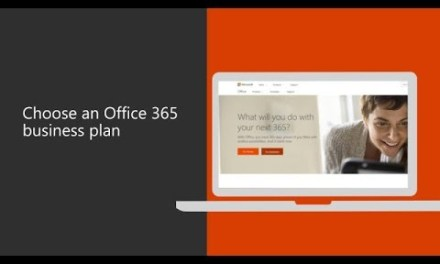 Choose an Office 365 business plan