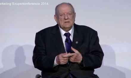 Klapka György a Marketing Commando 2014-es Marketing Szuperkonferenciáján