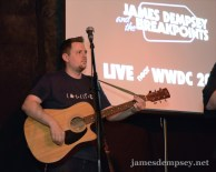 Ben Scheirman with acoustic guitar