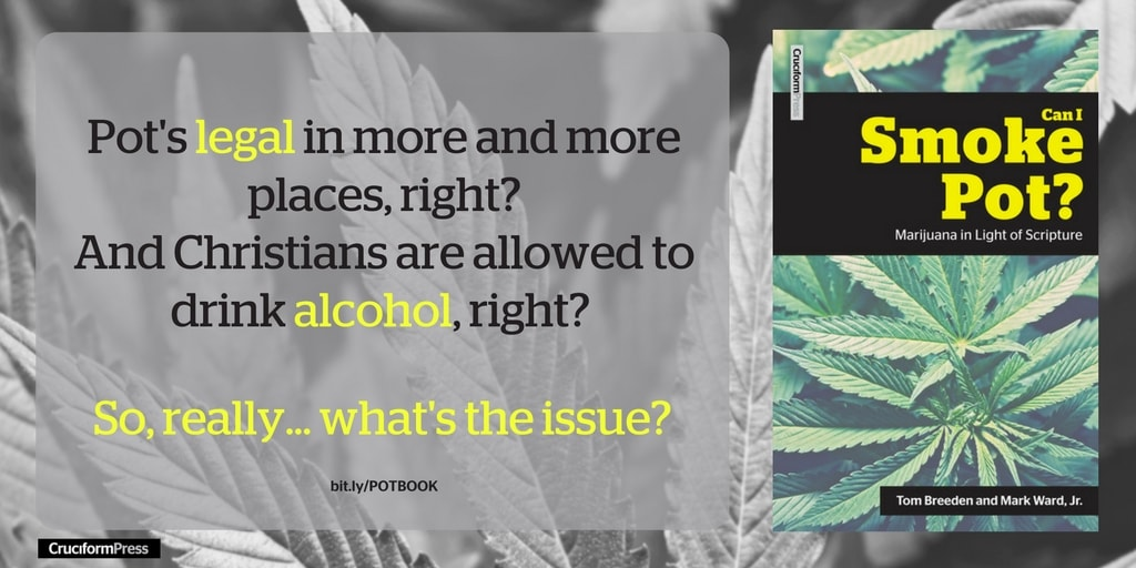 What You Will Learn from Our New Book about Christians and Marijuana