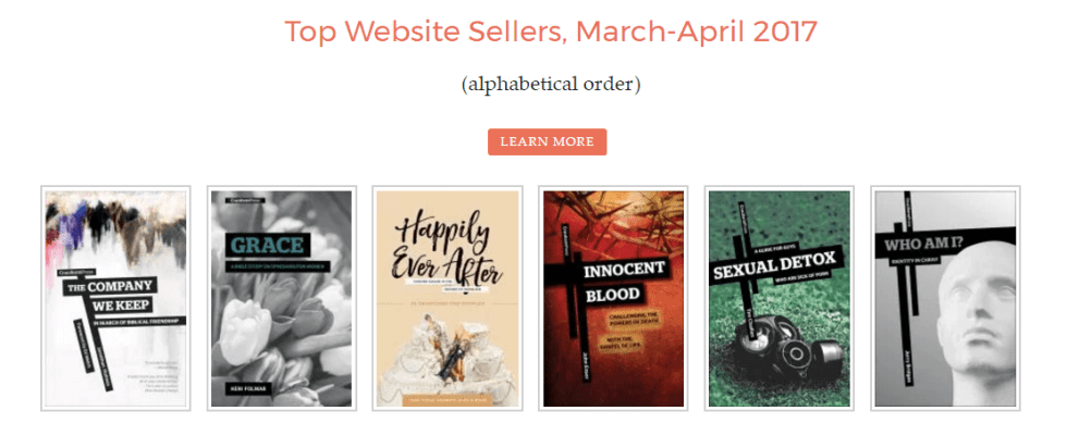Top Website Sellers for March/April 2017