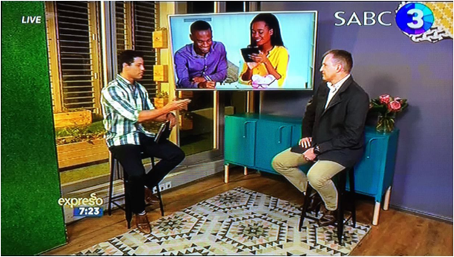 Eric Jordaan, Crue's legal advisor and tax expert, on the Expresso Morning Show talking about the new tax season.