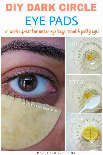 Dark Circle Eye Pads DIY