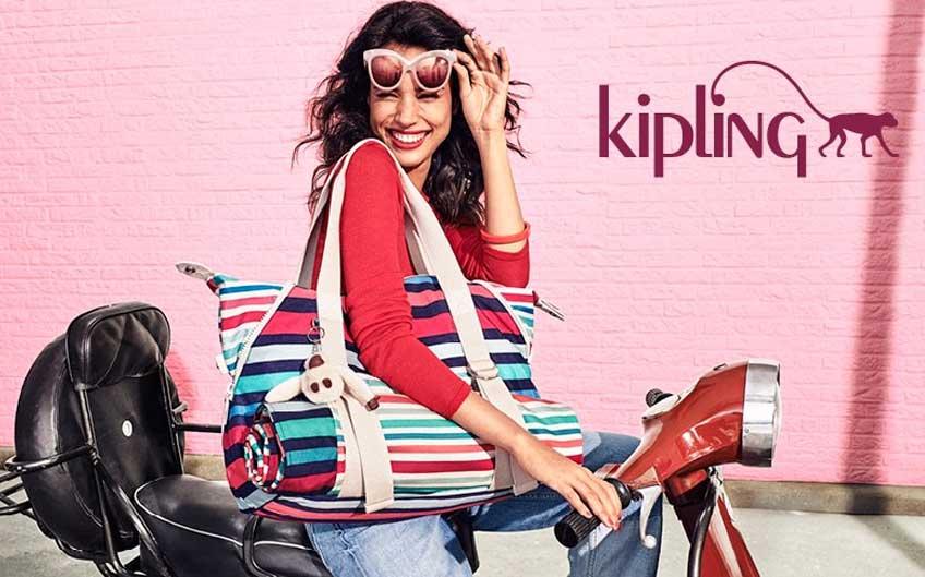 Kipling vegan-friendly beach bags