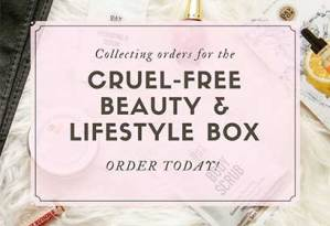 Collecting orders for the cruelty-free beauty & lifestyle box. Order Today!