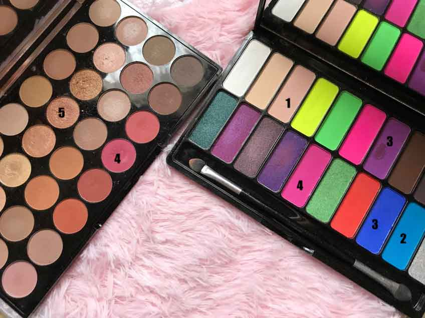 Makeup Revolution Flawless Resurrection & Pro Decandence clubbed to death palette by Freedom Makeup