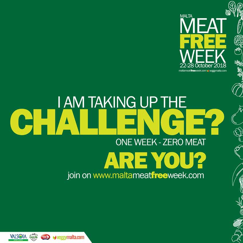 Malta Meat Free Week 2018
