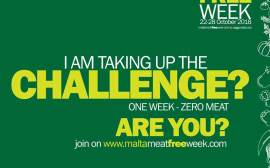 Malta Meat Free Week 2018