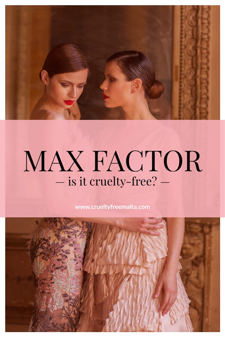 Is Max Factor cruelty-free?