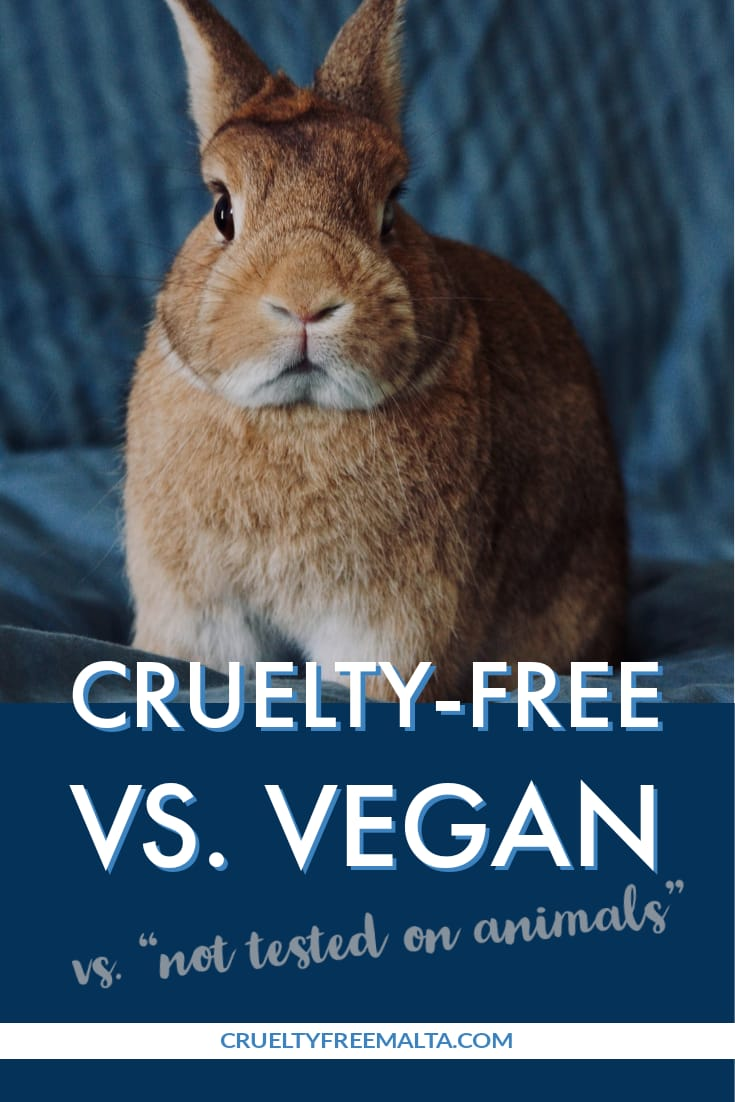 "Cruelty-free vs Vegan... ""Not Tested On Animals"""