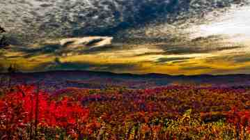 Fall Foliage Mountain Sunrise