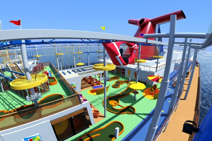 SkyRide aboard Carnival Vista