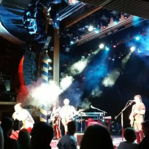 Journey take the stage aboard Carnival LIVE aboard Carnival Liberty