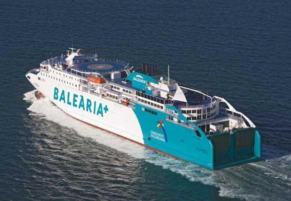 Balearia's New Bahama Mama Ferry holds 1,000 passengers