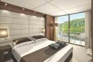Emerald Waterways - Balcony Cabin