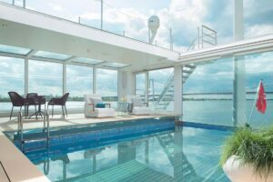 Emerald Waterways - Onboard Pool