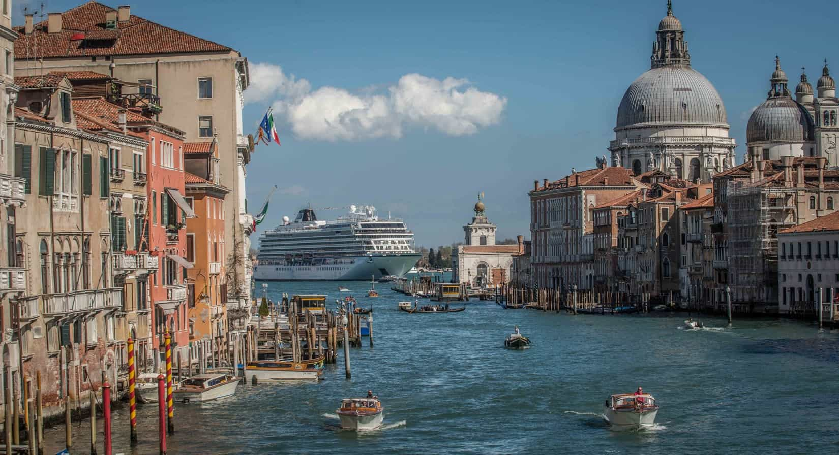 Viking Star in Venice, Italy