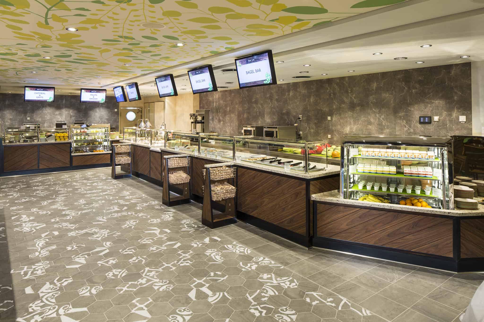 Park Cafe - Deck 8 Central Park Harmony of the Seas - Royal Caribbean International