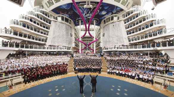 Team Harmony of the Seas Royal Caribbean International