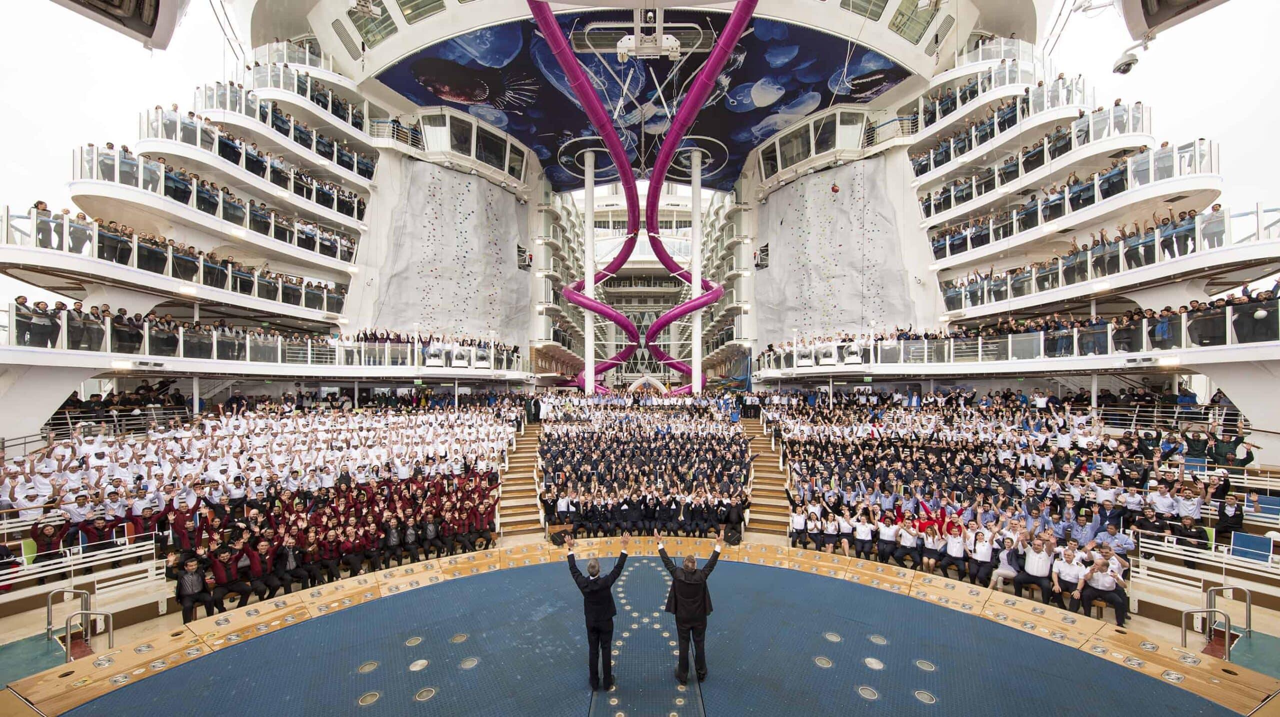 Team Harmony of the Seas Royal Caribbean International