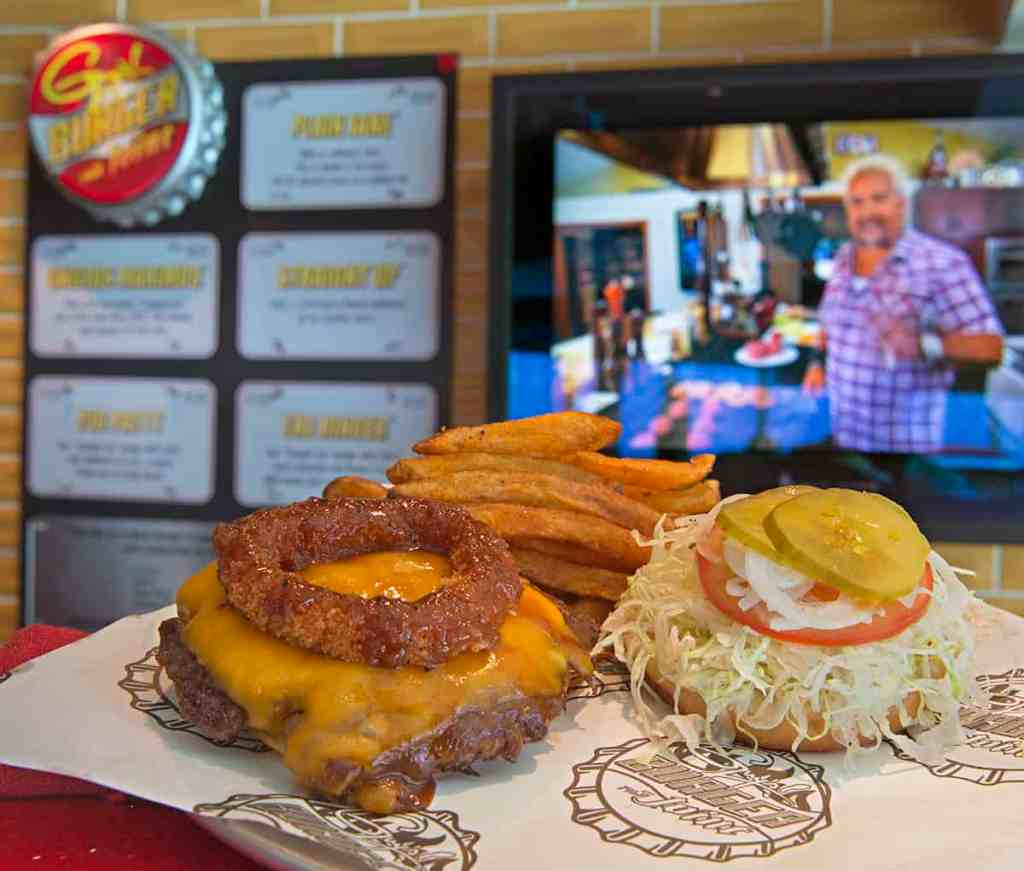 Guy's Burger Joint aboard Carnival Cruise Line ships