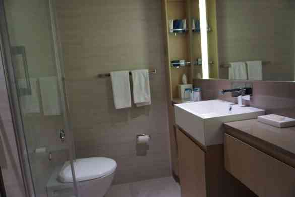 A Standard Bathroom aboard Viking Ocean Cruises