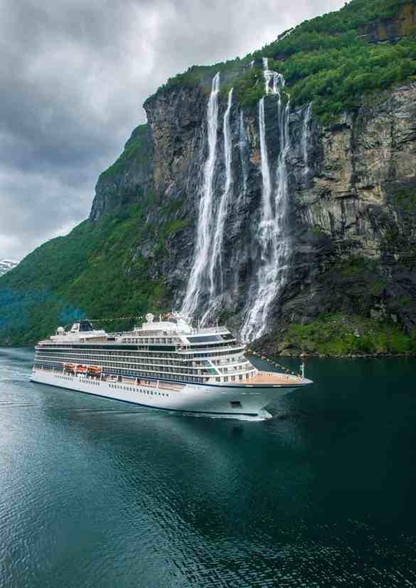 Viking Cruises Christens Third Ocean Ship In Norway   1