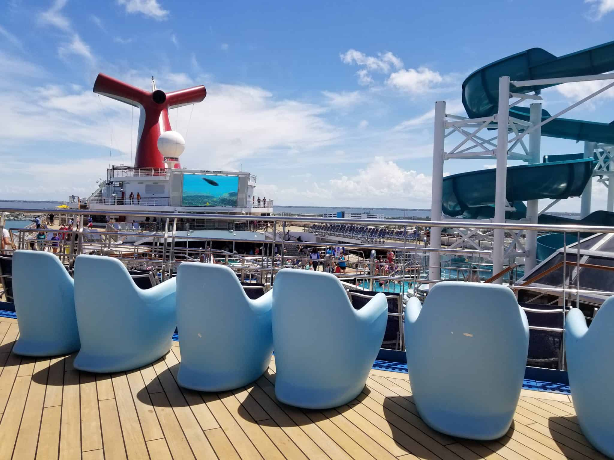Family Cruise Day 1 Carnival Liberty Embarkation