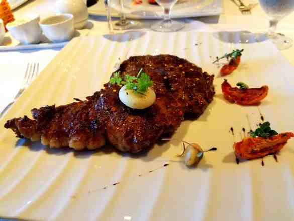 Spiced-Rubbed Prime Rib Eye Steak