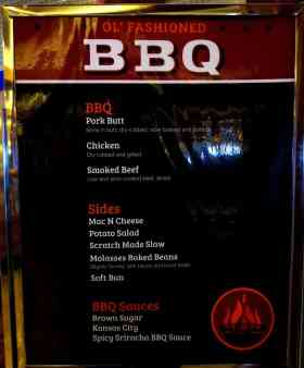Ol' Fashioned BBQ aboard Carnival Cruise Line