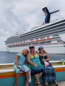 My Girls and Carnival Liberty in Nassau, Bahamas