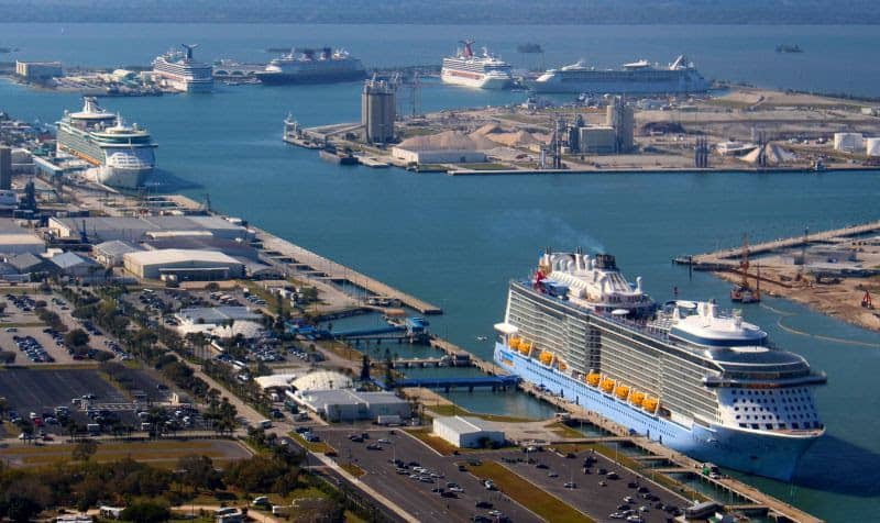 Port Canaveral Posts Record Cruise Numbers Over Million - Cruise ships port canaveral