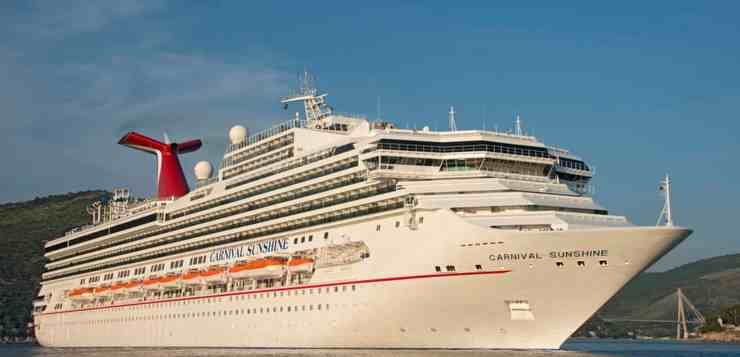 Carnival Sunshine Will Begin Sailing Year-Round From Charleston Starting May 2019