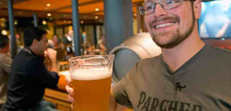 Carnival Cruise Line's Brewmaster Colin Presby, Introduces Us To The New Parched Pig Craft Brews