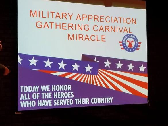 Carnival and Operation Homefront host 100 couples for a 'day date' with fun and laughs