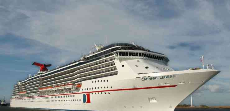 Carnival Legend To Reposition to Tampa in 2019