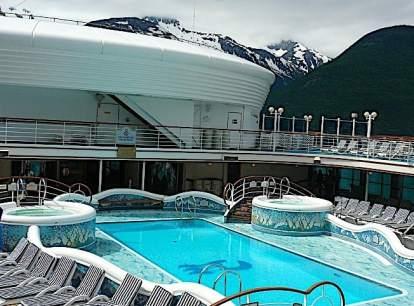 Golden Princess cruise ship in Alaska