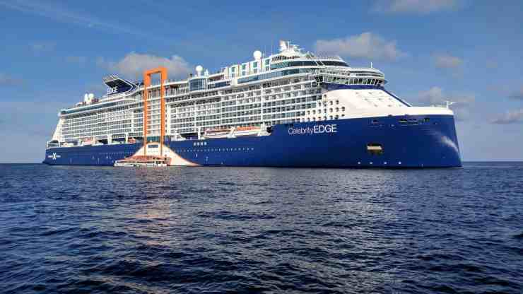 Celebrity Cruises' Celebrity Edge cruise ship