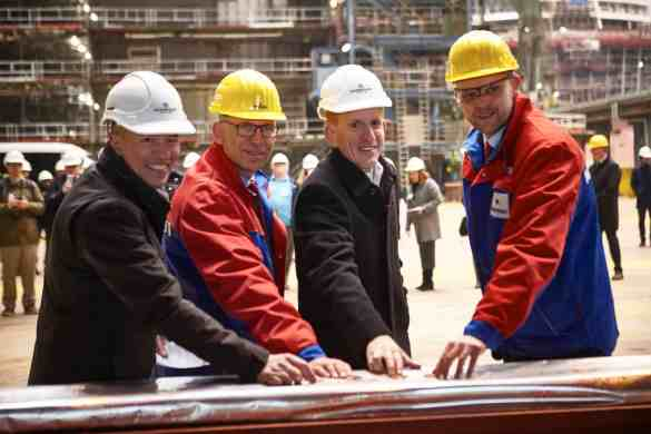 Norwegian Cruise Line Unveils Entertainment Line-Up for Norwegian Encore at Keel Laying Ceremony | 29