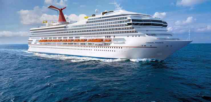 Carnival Radiance's 2020 Inaugural Season Schedule Announced