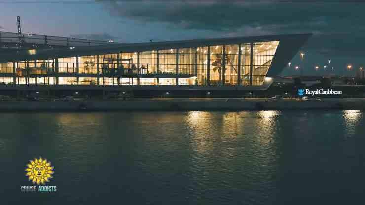 Terminal A - Royal Caribbean's New Port Miami Cruise Terminal