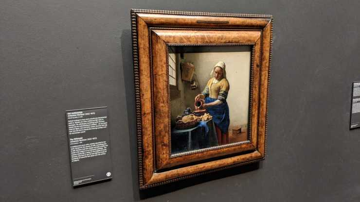 The Milk Maid by Vermeer